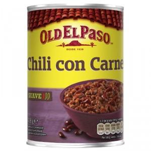 CHILI OLD EL PASO CON CARNE 418 GR.
