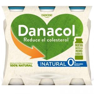 YOGUR DANONE DANACOL LIQUIDO NATURAL PACK-6 X 100 GRS