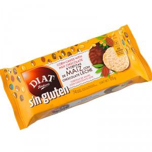 TORTITA MAIZ DIET CHOCOLATE LECHE SIN GLUTEN 125 GRS