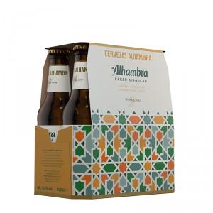 CERVEZA ALHAMBRA ESPECIAL PACK 6 UND X 25 CL.