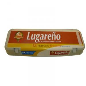 HUEVO LUGAREÑO CLASE M 53/63 DOCENA