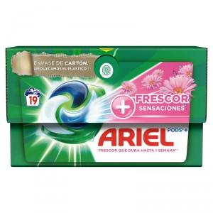 DETERGENTE ARIEL 3EN1 SENSACIONES 23 DOSIS