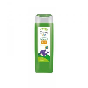 CHAMPU CROWE KIDS 2 EN 1 300 ML.